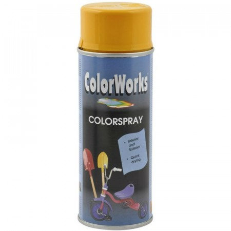 Colorspray 400ml Gyldengul