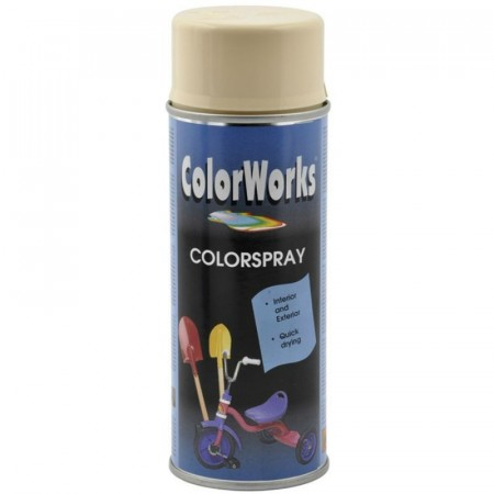 Colorspray 400ml Antikkhvit