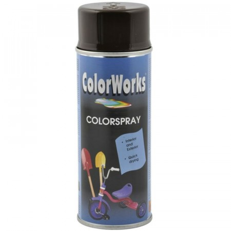 Colorspray 400ml Sjokoladebrun
