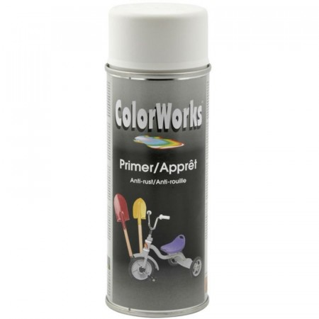Colorspray 400ml Hvit Grunning