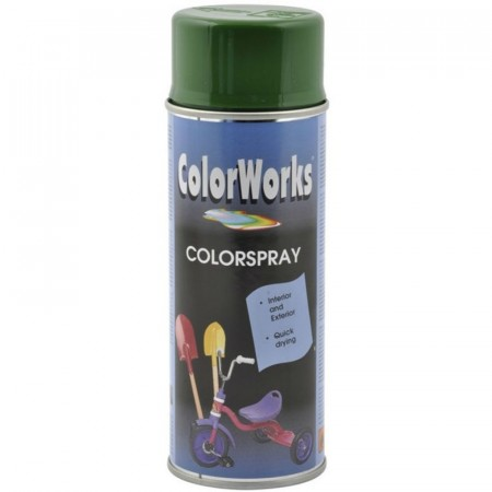 Colorspray 400ml Gull Grønn