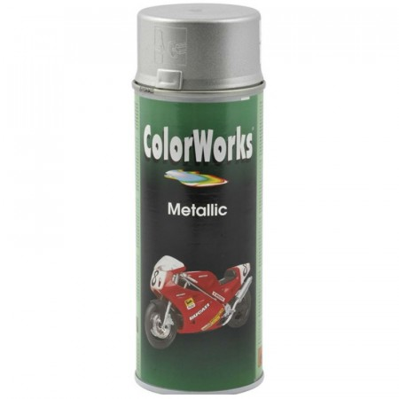 Colorspray 400ml Sølv Metallic