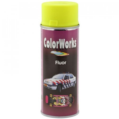 Colorspray 400ml Fluor Gul