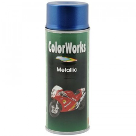 Colorspray 400ml Metallic Blå
