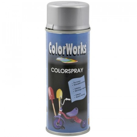 Colorspray 400ml Sølv