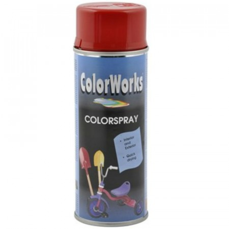 Colorspray 400ml Signalrød