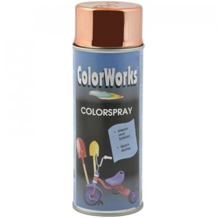 Colorspray 400ml Kobber Chrome