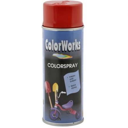 Colorspray 400ml Rød