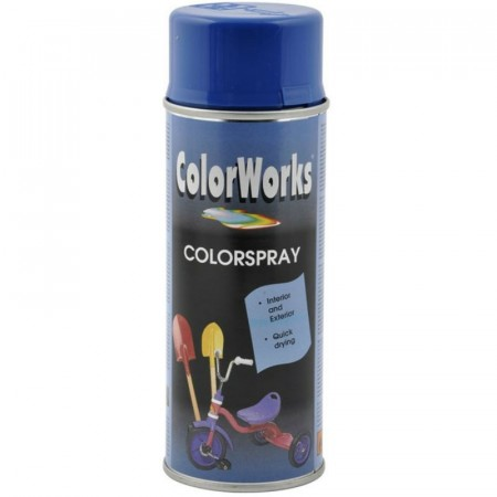 Colorspray 400ml Mørkeblå