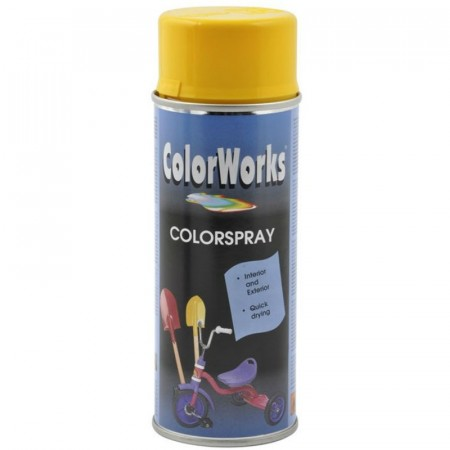 Colorspray 400ml Gul