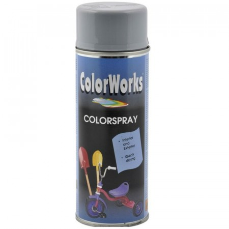 Colorspray 400ml Sølvgrå