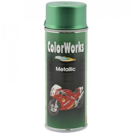 Colorspray 400ml Grønn Metallic